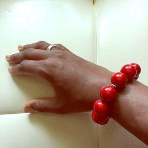 Jewelry - Gumball red bracelet